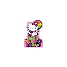 Hello Kitty Invitation Hello Kitty Invitations Cards Party Supplies Helium Balloons Birthday Celebration
