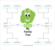 Family Tree Template Free Download Family Tree Template Word Doc Info History Format Slipcc Co