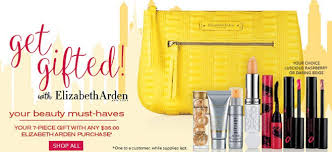 receive a free 7 piece bonus gift with your 35 elizabeth arden purchase