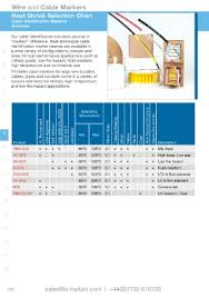 Cable Identification Chart Page 288 Is Rayfast Catalogue Issue 9 2017