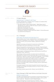 Telecom Analyst Sample Resume Interesting Gallery Of It Project Manager Resume Samples Visualcv Resume Samples