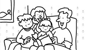 Get This Simple Family Coloring Pages To Print For Preschoolers Cdsxi