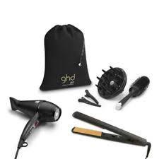 ghd hair straighteners iv styler and air hair dryer straightener gift set