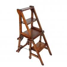 victorian metamorphic library chair