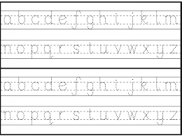 Alphabet Writings For Kindergarten Preschool English Writing ...