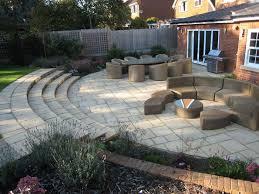 sloping garden design ideas uk