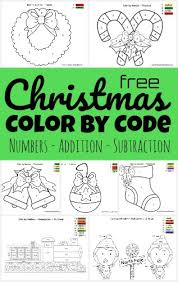 We also have more advanced addition worksheets that include large number addition math problems. Free Christmas Color By Number