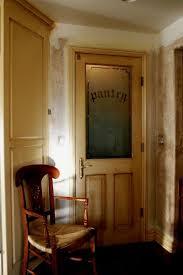 pantry door half glass half wood home tips tricks