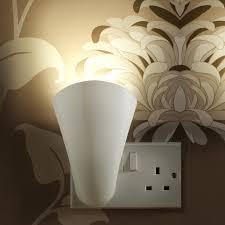 wall washing lighting. Auraglow Plugin GU10 Spotlight Uplighter Wall Wash Light Plug Socket Lamp Washing Lighting