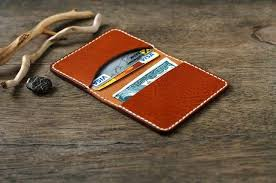 leather card wallet card holder leather