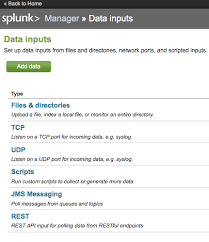 data input getting data from your rest apis into splunk