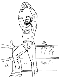 In addition, you can use this exercise as a distraction while you are engaged in homework or office work. Wwe Coloring Page Coloring Home