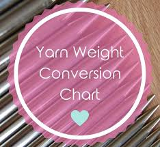 Yarn Weight Conversion Chart - Us/uk/aus | Blissfully Crafted