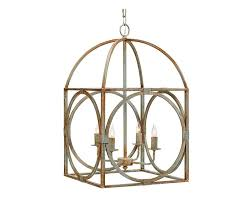 magnolia home metal birdcage chandelier