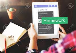 Homework To Do List Homework Lesson Knowledge Task Word To Do List Stock Photo Picture