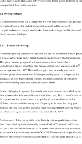 Price Determination For Bundled Products Application For A