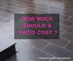 how much should a patio cost mango