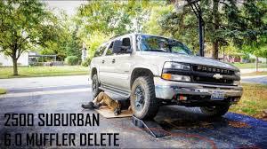2000 Chevy Suburban 2500 6.0L Exhaust Delete / Muffler Delete ...