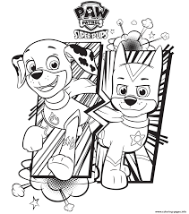 Free printable coloring pages for a variety of themes that you can print out and color. Free Paw Patrol Coloring Pages Happiness Is Homemade