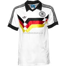 adidas originals mens germany 1988 retro home shirt white men sports performance tops white black red yellow 20223894584