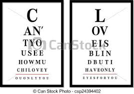 Eye Chart Pictures Vector