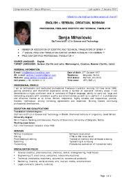 Brilliant Ideas Of Sample Professional Resume Format For