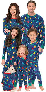 Christmas Lights PJs for the Whole Family | Loungewear/Jammies