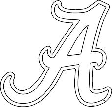 Alabama Clipart University Of Alabama A