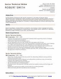Senior Technical Writer Resume Samples Qwikresume