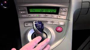 2012   Toyota   Prius   Shift Lever Operation   How To By Toyota ...