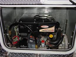 rv generator installation modmyrv Wiring Diagram For 18 Foot 5th Wheel Trailer generac 3400lp installed in truck camper Semi Truck Fifth Wheel Diagram