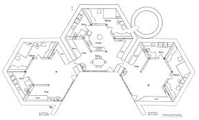 Hexagon House Plan  Math Geometry  Pinterest  House Unique Hexagon House Plans