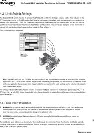 limitorque wiring of limit switches wiring diagram features user instructions limitorque l actuator installation operation each rotor set has four electrical contacts which can
