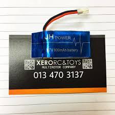 Syma X5SW X5SC X5C X5W Spare <b>3.7V 800mAh 25C LiPo</b> Battery ...