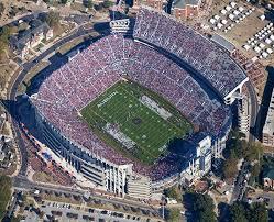 Auburn University Stadium Seating Chart Jordan Hare Stadium Aerial Of Seating View Jsonfiddle