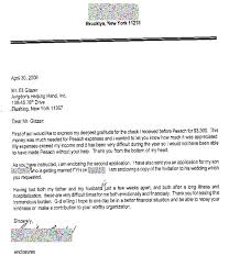 Thank You Letter Avigdors Helping Hand
