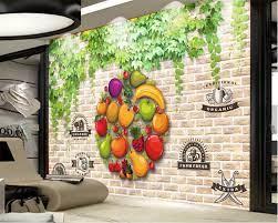 beibehang Kitchen wallpaper 3d wall ...