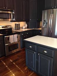 kitchen painted using chalk painta decorative paint by annie sloan in the color graphite