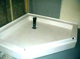 shower floor base waste