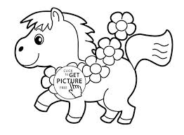 Coloring Pages Of Horses Printable Spirit Horse Race Free Head