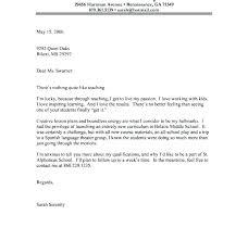 Sample Art Teacher Cover Letter Cover Letter Template Education Naomijorge Co