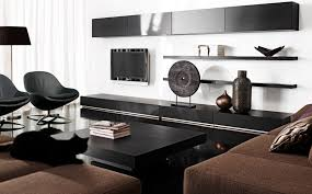 Black Brown Living Room Furniture Modern Elegance Black Brown