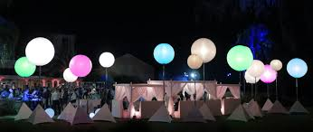lighting pic. Vancouver Crystal Balloon Lighting Pic