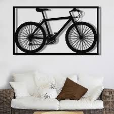 metal wall decor metal bike wall art