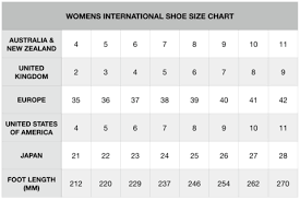 Size Guides Lola G Shoes Fashion