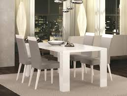 white table and chairs modern exquisite diamond fixed or ext white high gloss white dining table