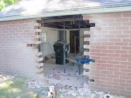 garage wall removal or repair active