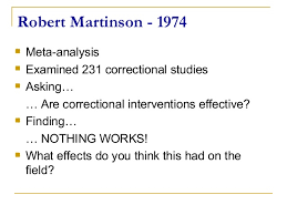 martinson nothing works t4 c overview david
