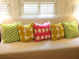 Colorful Motifs Pillows For Couch That Can Be Applied On The Cream Sofas  Can Add The Beauty Inside The Modern Elegant Living Room Design Ideas That  Seems ...