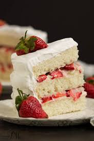 strawberry cream cake call me pmc